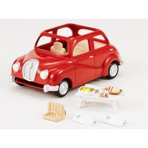 Auto Rossa con Tavolino