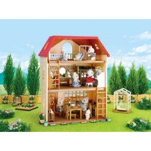 Casa a tre piani con terrazzo