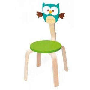 Sedia in legno Gufo Lou