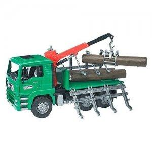 Camion MAN per il trasporto del legno