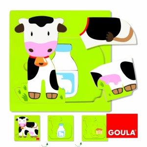 Puzzle 3 Livelli Gallina