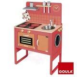 Cucina con lavatrice