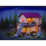 Casa grande Sylvanian - con luce