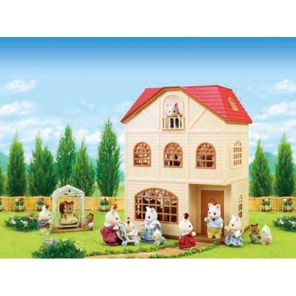Casa a tre piani con terrazzo for Piani di casa con foyer